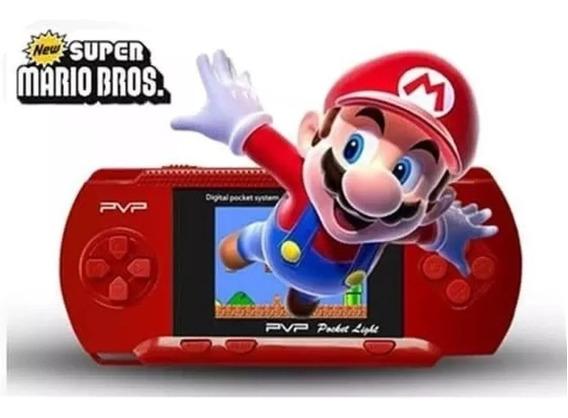 Mini Video Game Psp Pvp Boy Portátil Digital Conecta Tv Diversos Clássicos Da Nintendo Jogos Para Família Portátil