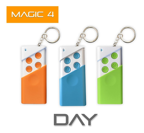 Imagen 1 de 5 de Control Remoto Magic02 Alarma Domiciliaria Inalambrica Kit