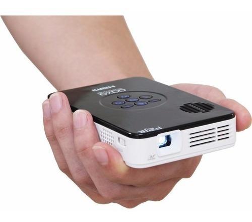 Mini Projetor Led 55 Lumens P2jr Aaxa