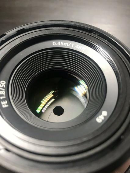 Lente Sony Fe 50mm F/1.8 E-mount Full Frame A7iii A7s A7r