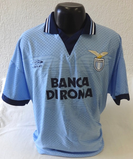 Camisa Lazio 1995 1996 Umbro Original - Made In England