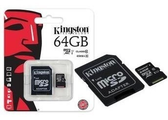 Cartao De Memoria Micro Sd 64gb Kingston