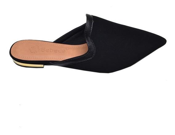 Sapato Feminino Mule Bebecê Preto