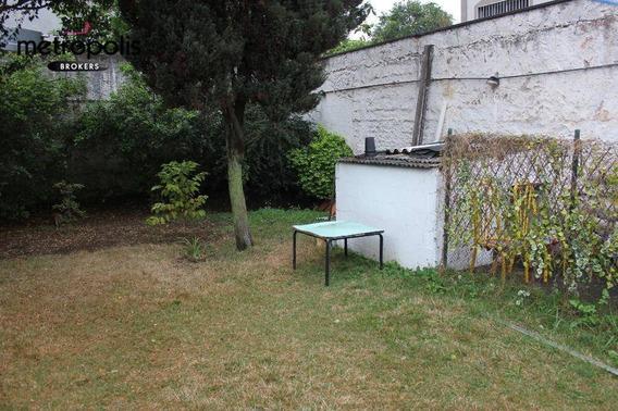 Casa Residencial À Venda, Santa Paula, São Caetano Do Sul. - Ca0167