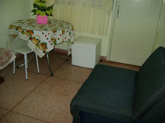 Apartamento 1 Dormitório Frente Para O Mar