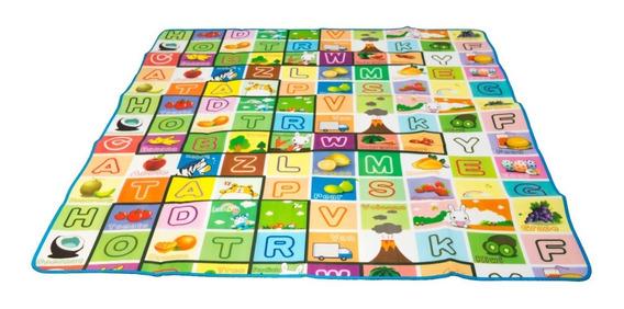 Tapete Juguete Juego Letras Aprende Ingles Osos Niños Bebes