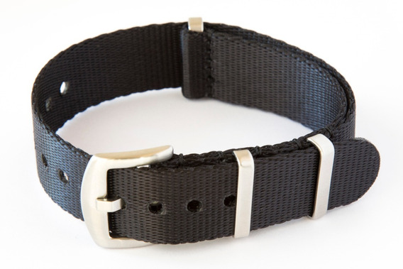 Kit 2 Pulseiras Nato Premium Seat Belt 22 Mm