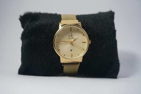 Relógio Dourado Swiss Made