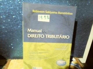 Manual De Direito Tributário(foto Real)