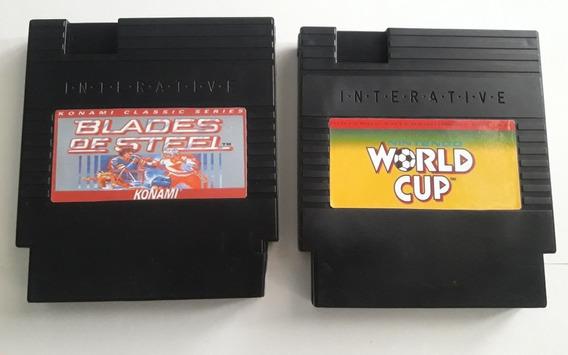 Blades Of Steel / Nintendo World Cup Para Nes