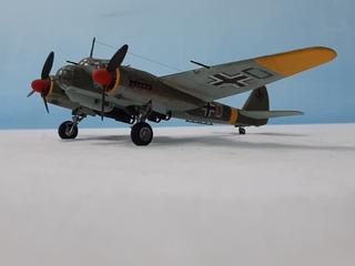 Bimotor Aleman Junkers Ju-88, A Escala 1:72