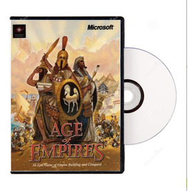 Age Of Empires 1 + Expansão The Rise Of Rome Cd Rom