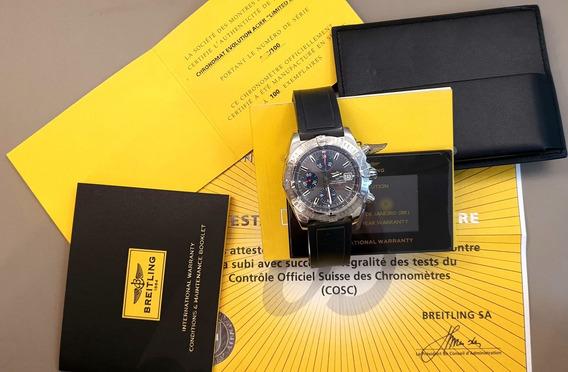 Breitling Chronomat Edição Limitada Brasil