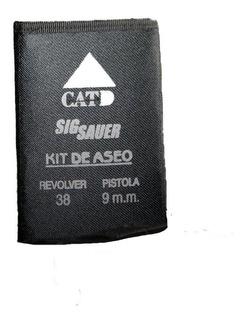 Kit De Aseo Para Pistola Revolver 38 Y Pistola 9 Mm