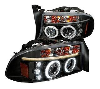 Dodge Durango 1998 2003 Faros Ojo Angel Led 2000 2001 2002