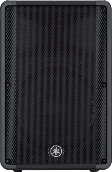 Caixa Som Ativa Profissional Yamaha Dbr15 1000w 15 Bivolt