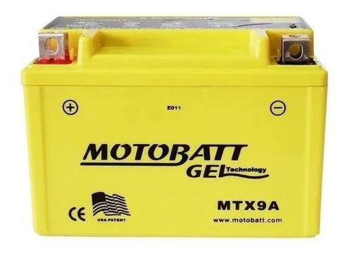 Bateria Motobatt Mtx9a 9ah Xj600 Xt600 Cb600 Hornet Klx 650