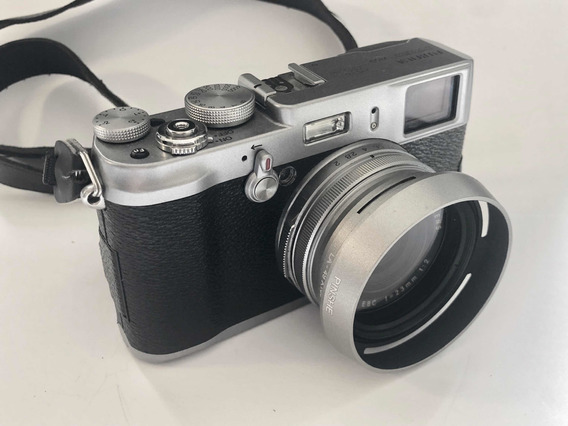 Fuji X100 Câmera Digital Mirrorless Hybrid Viewfinder