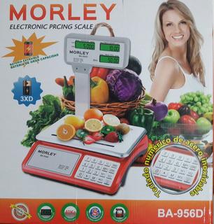 Balanza Comercial 40kg Visor Doble+ Bateria Envio Gratis !!!