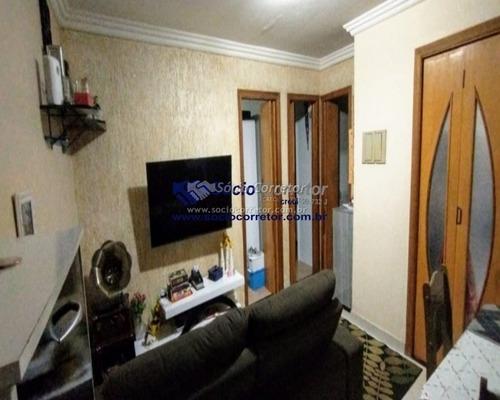 Imagem 1 de 15 de Vendo Apto 49 M² - Cond. Flor Dos Morros - 2 Dorms, Com Vaga - Apartamento A Venda No Bairro Jardim Adriana - Guarulhos, Sp - Sc01092