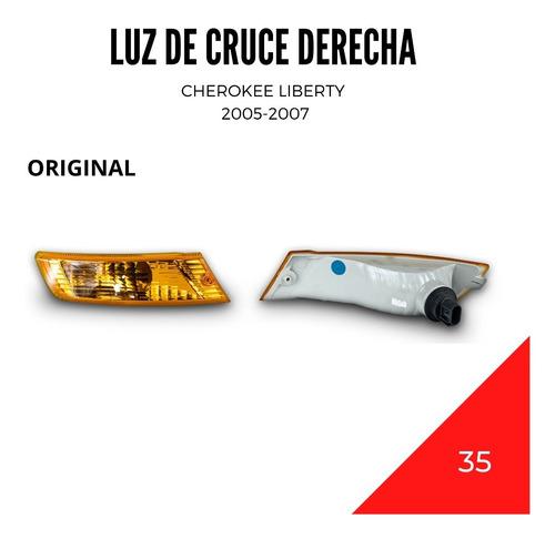 Luz De Cruce Izquierda Cherokee Liberty 2005-2007 Original