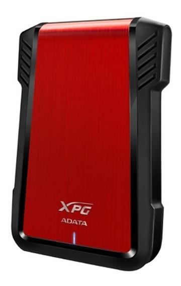 Carcasa Externa Adata Xpg Hdd Sdd 2.5 Ex500 Usb 3.1 Rojo