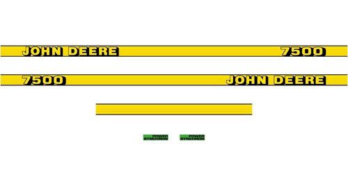Adhesivo Tractor John Deere 7500
