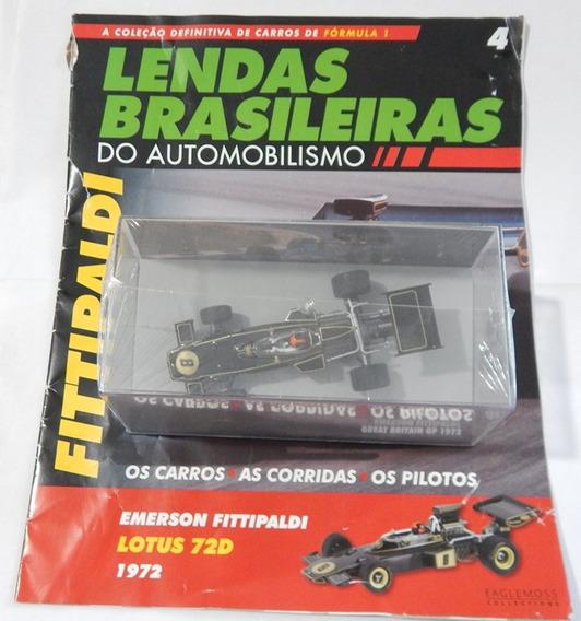 Lendas Brasileiras Lotus 72d Emerson Fittipaldi 1972