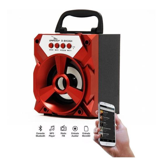 Caixa De Som Portátil Grasep Bluetooth D-bh1064