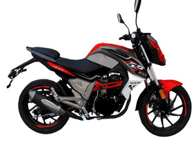 Moto Shineray Gp200 200cc Año 2018 Color Negro/rojo Nueva