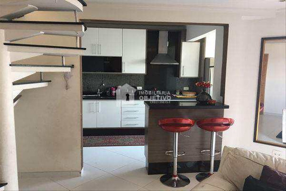 Cobertura Com 2 Dorms, Jardim Monte Alegre, Taboão Da Serra - R$ 690 Mil, Cod: 2920 - V2920