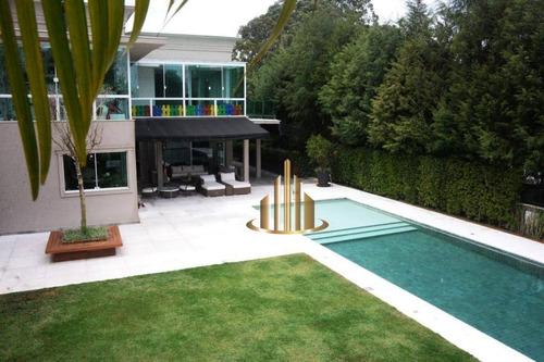 Casa Com 5 Dormitórios À Venda, 1200 M² Por R$ 8.500.000,00 - Residencial Melville - Santana De Parnaíba/sp - Ca2261