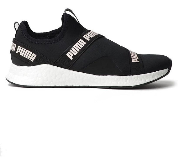 Tênis Puma Star Slip-on Black Pearl White