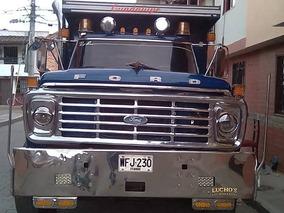 Volqueta Ford Piragua