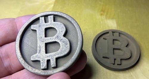 Imagem 1 de 1 de Challenge Coin Personalizado - Impressão 3d - 50 Unidades