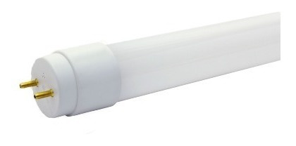 Tubo Led 1.20m 18w Vidrio Transparente Y Opalino