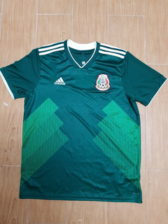 Jersey Seleccion Mexican Addidas Talla L