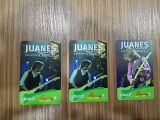 Tarjeta Telefónica Colombia 2006 Juanes