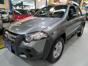 Fiat Strada Adventure 1.8 Cabine Dupla Cinza Completa