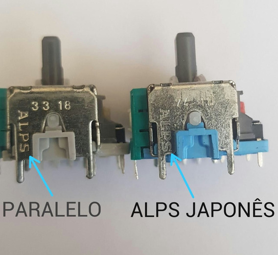 10 Analogico 3d Alps Alavanca Original Para Controle De Ps4