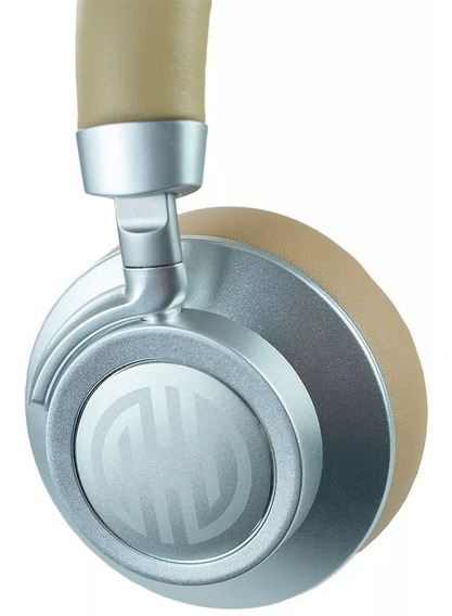 Fone Ouvido Sem Fio Bluetooth Hoopson Lx01 Portátil Bege