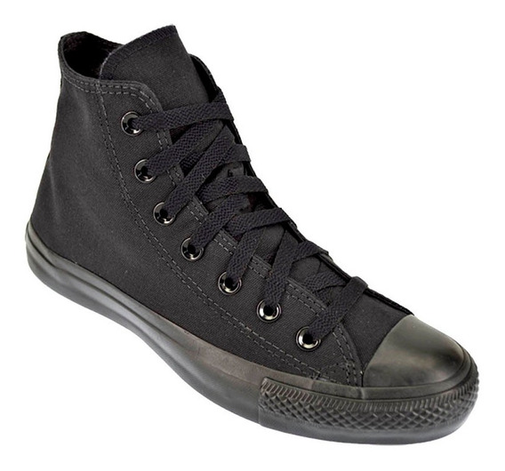 Zapatilla Botita Converse All Star Hi Mono Original Negro