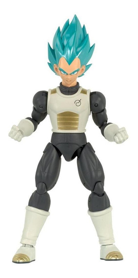 Dragon Ball Super Boneco Blue Vegeta - Fun Divirta-se