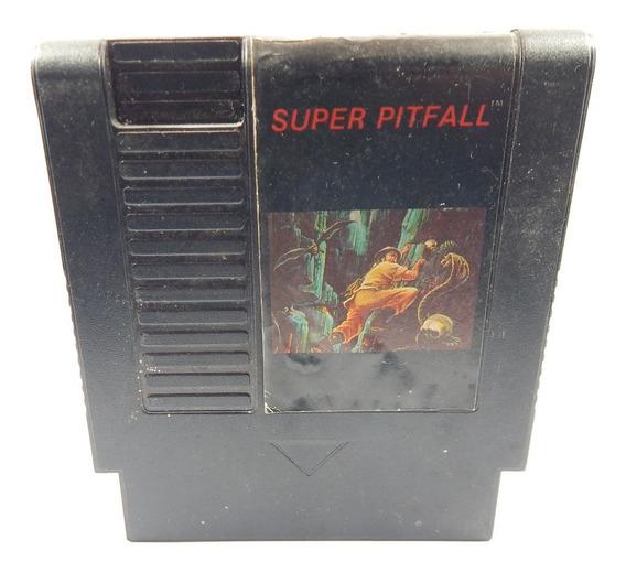 Cartucho Nintendo Super Pitfall 72 Pinos Original Gradiente