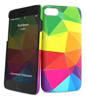 Protector I-paint iPhone 7/8 Plus Diseño Colores