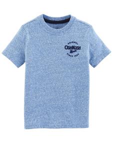 Tshirt Infantil Oshkosh Original Azul Claro