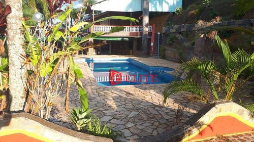Chácara Com 3 Dormitórios À Venda, 16000 M² Por R$ 1.300.000,00 - Altos Da Vila Paiva - São José Dos Campos/sp - Ch0039