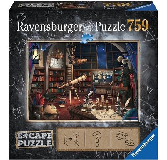 Observatorio Escape Room Puzzle 759 Pz Ravensburger 70x50cm