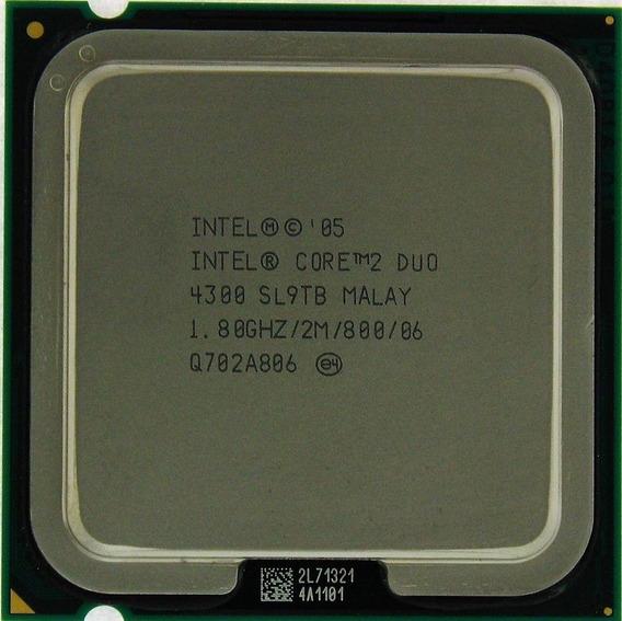 Processador Intel Core 2 Duo E4300 1.80ghz 800 2m