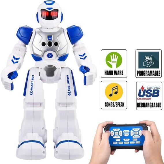 Elemusi Robot De Control Remoto Inalámbrico Para Juguetes